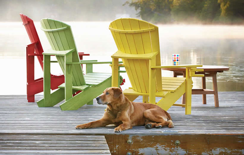 The Classic Beauty of Adirondack Chairs Clever Solutions to