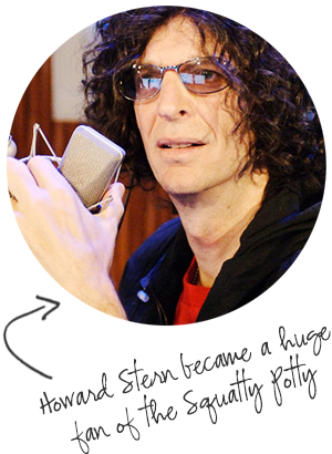 Howard Stern a fan of Squatty Potty